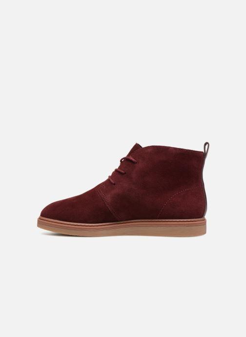 Bottines et boots Clarks Dove Roxana Bordeaux vue face