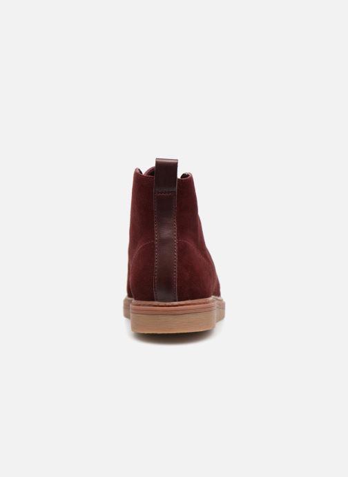 Bottines et boots Clarks Dove Roxana Bordeaux vue droite