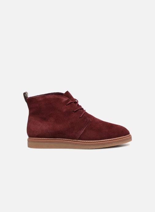 Bottines et boots Clarks Dove Roxana Bordeaux vue derrière