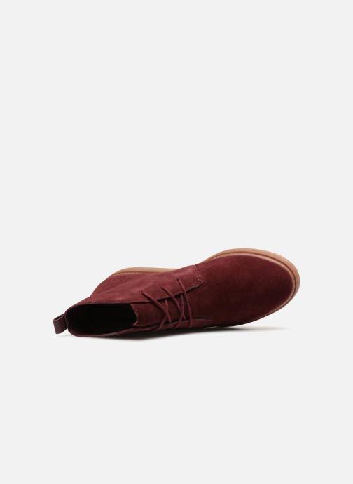 Bottines et boots Clarks Dove Roxana Bordeaux vue gauche
