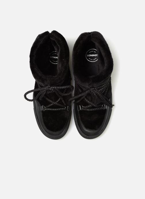 Boots en enkellaarsjes Made by SARENZA Toundra Girl Bottines Moumoute #1 Zwart model