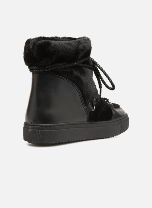Boots en enkellaarsjes Made by SARENZA Toundra Girl Bottines Moumoute #1 Zwart voorkant