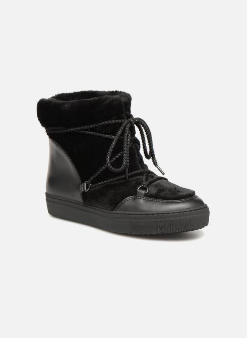 Boots en enkellaarsjes Made by SARENZA Toundra Girl Bottines Moumoute #1 Zwart rechts