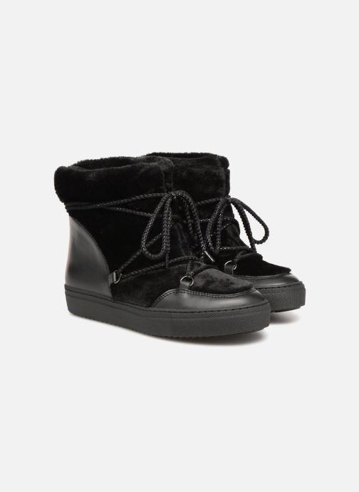Boots en enkellaarsjes Made by SARENZA Toundra Girl Bottines Moumoute #1 Zwart achterkant