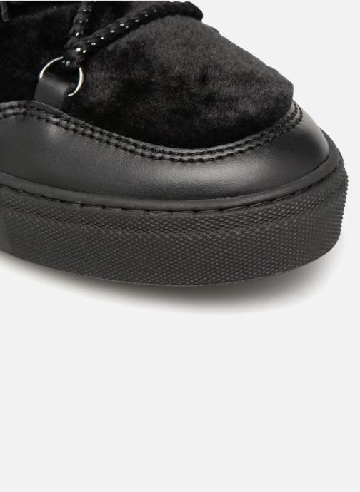 Boots en enkellaarsjes Made by SARENZA Toundra Girl Bottines Moumoute #1 Zwart links
