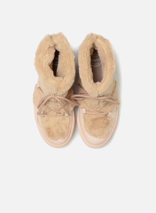 Bottines et boots Made by SARENZA Toundra Girl Bottines Moumoute #1 Beige vue portées chaussures