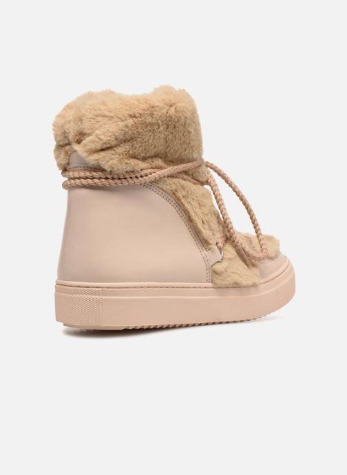 Stiefeletten & Boots Made by SARENZA Toundra Girl Bottines Moumoute #1 beige ansicht von vorne