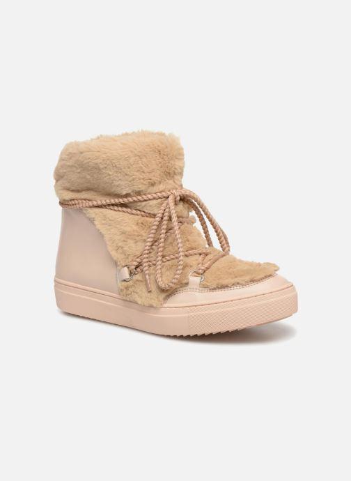 Stiefeletten & Boots Made by SARENZA Toundra Girl Bottines Moumoute #1 beige ansicht von rechts