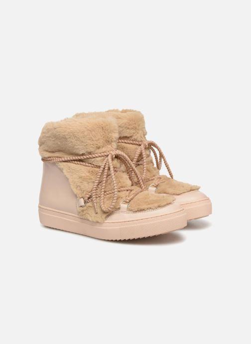 Bottines et boots Made by SARENZA Toundra Girl Bottines Moumoute #1 Beige vue derrière
