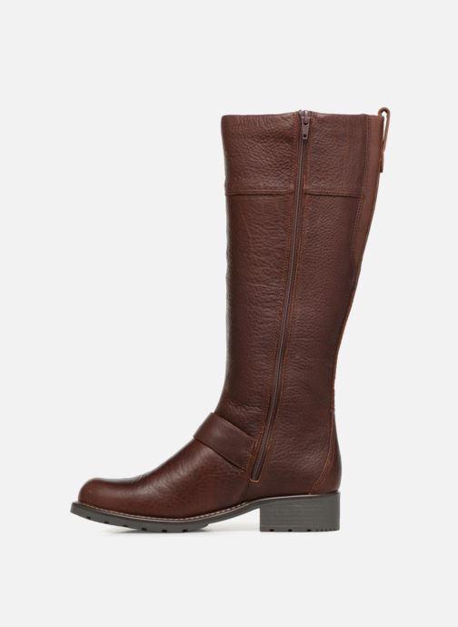 Boots & wellies Clarks Orinoco Jazz Brown front view