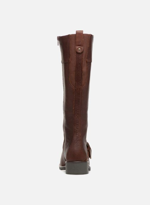 Boots & wellies Clarks Orinoco Jazz Brown view from the right