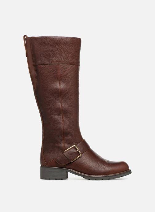 Boots & wellies Clarks Orinoco Jazz Brown back view