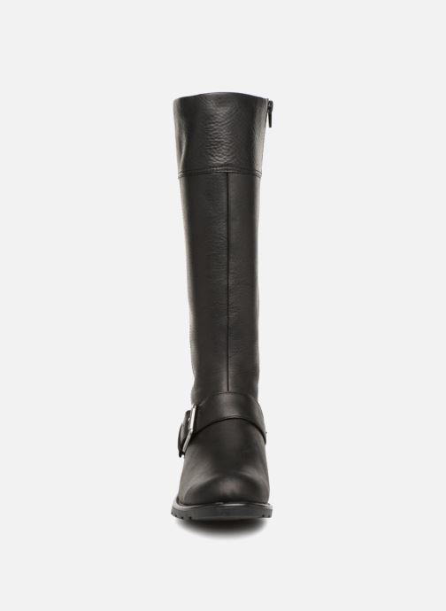 Stiefel Clarks Orinoco Jazz schwarz schuhe getragen