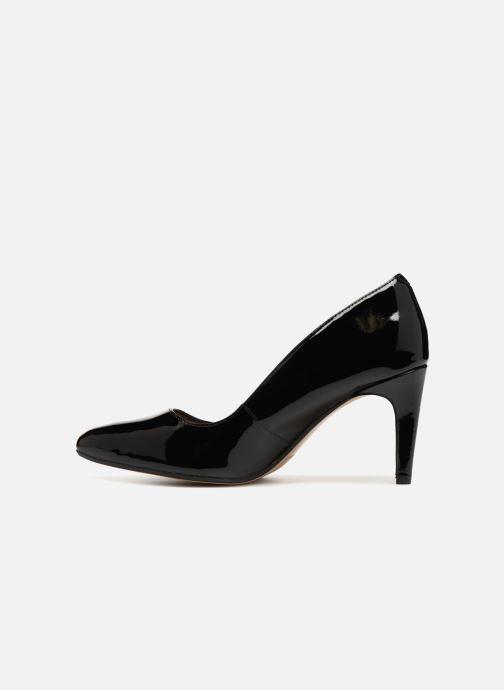 Zapatos de tacón Clarks Laina Rae Negro vista de frente