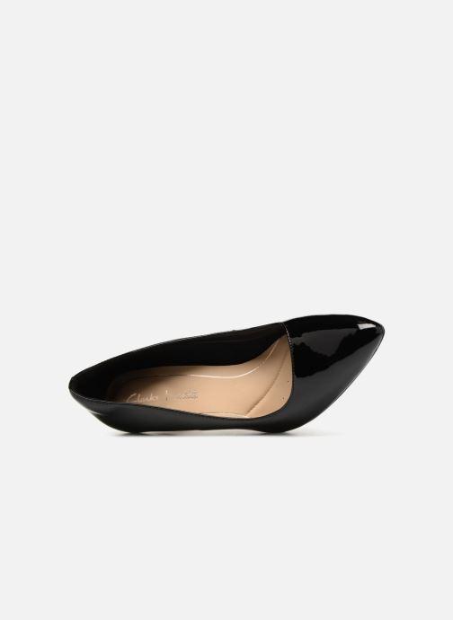 Zapatos de tacón Clarks Laina Rae Negro vista lateral izquierda
