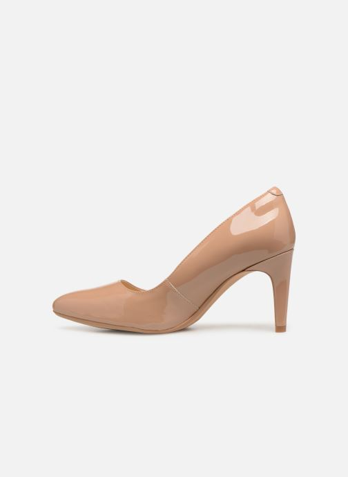 High heels Clarks Laina Rae Beige front view