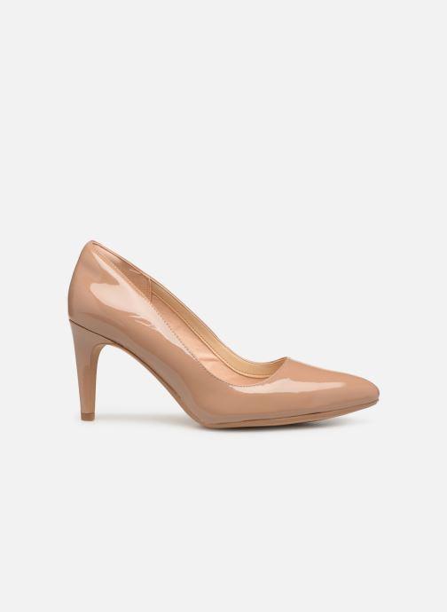 High heels Clarks Laina Rae Beige back view