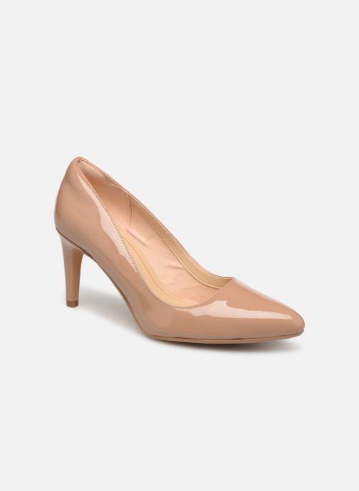 High heels Clarks Laina Rae Beige detailed view/ Pair view