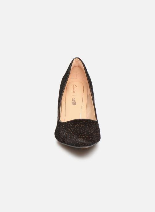 Escarpins Clarks Laina Rae Marron vue portées chaussures