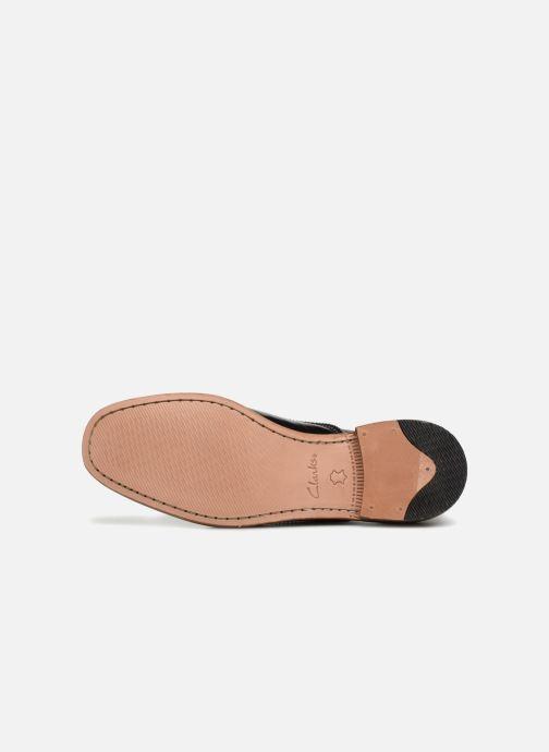 Chaussures à lacets Clarks Ellis Scarlett Noir vue haut