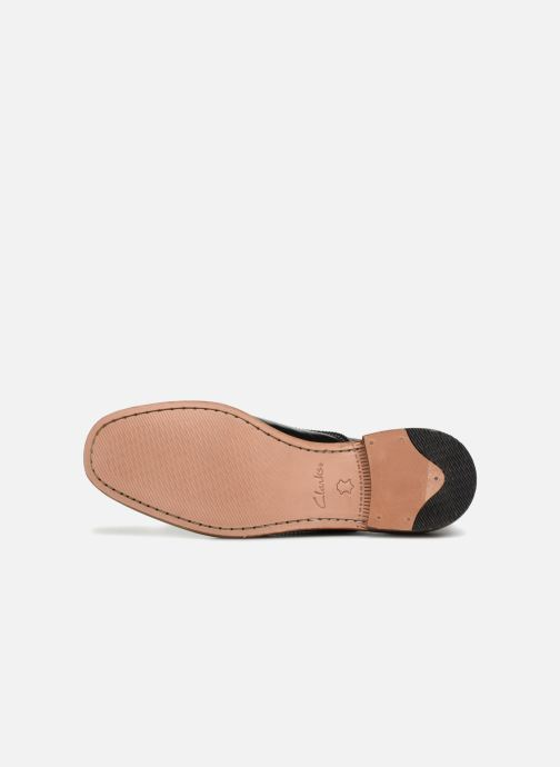 Snörade skor Clarks Ellis Scarlett Svart bild från ovan