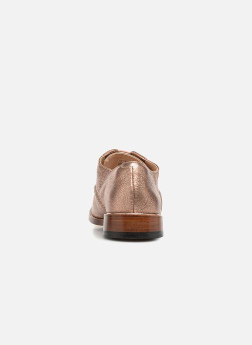 Chaussures à lacets Clarks Ellis Scarlett Rose vue droite