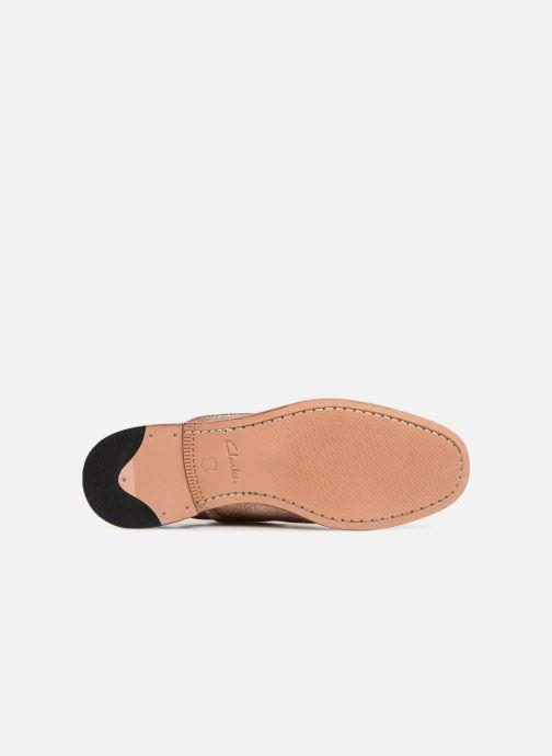 Chaussures à lacets Clarks Ellis Scarlett Rose vue haut