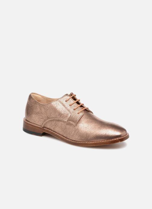 Chaussures à lacets Clarks Ellis Scarlett Rose vue détail/paire