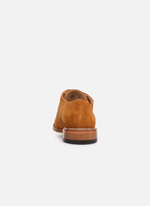 Zapatos con cordones Clarks Ellis Scarlett Amarillo vista lateral derecha