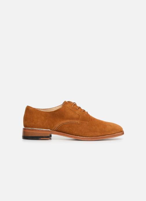 Chaussures à lacets Clarks Ellis Scarlett Jaune vue derrière