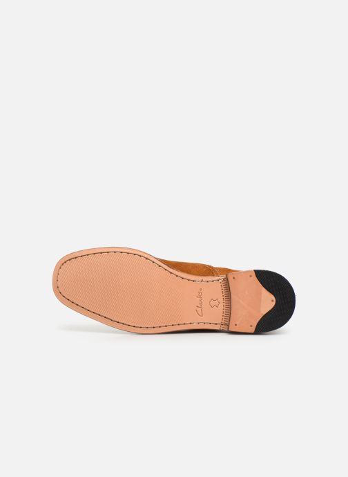 Chaussures à lacets Clarks Ellis Scarlett Jaune vue haut