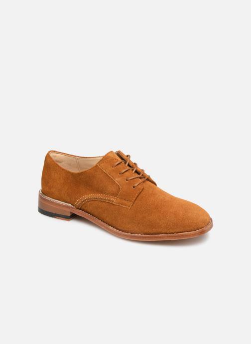 Chaussures à lacets Clarks Ellis Scarlett Jaune vue détail/paire