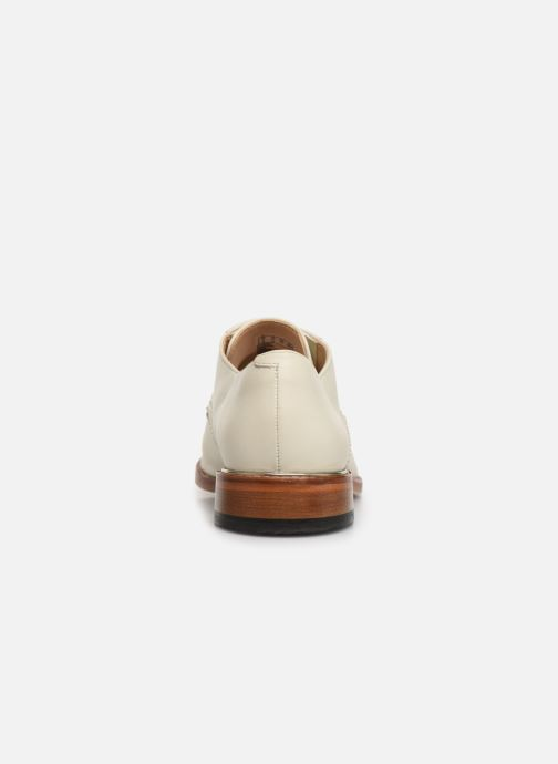 Lace-up shoes Clarks Ellis Scarlett White view from the right