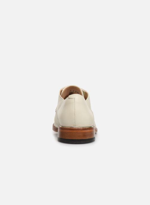 Chaussures à lacets Clarks Ellis Scarlett Blanc vue droite