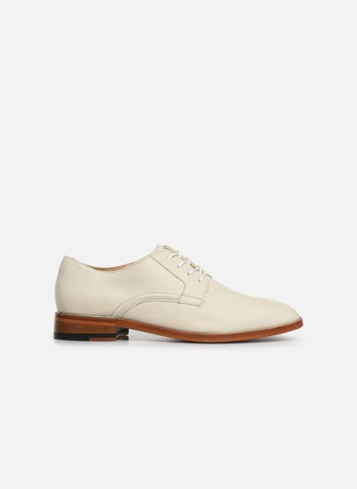 Lace-up shoes Clarks Ellis Scarlett White back view