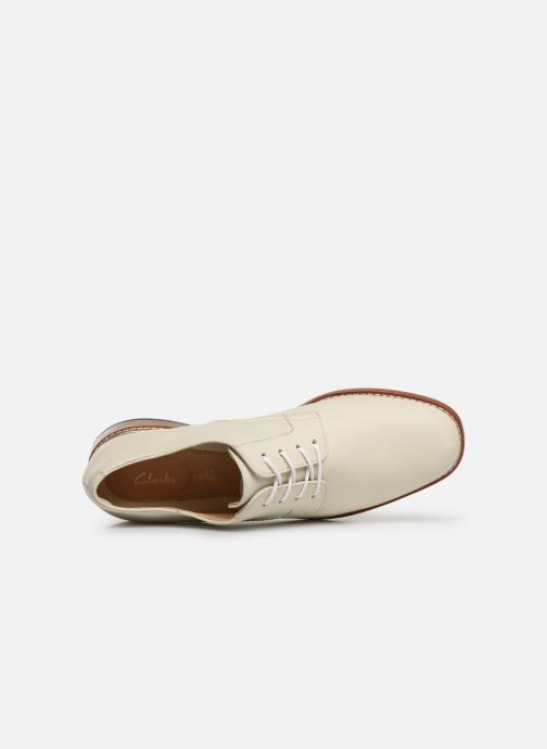 Lace-up shoes Clarks Ellis Scarlett White view from the left