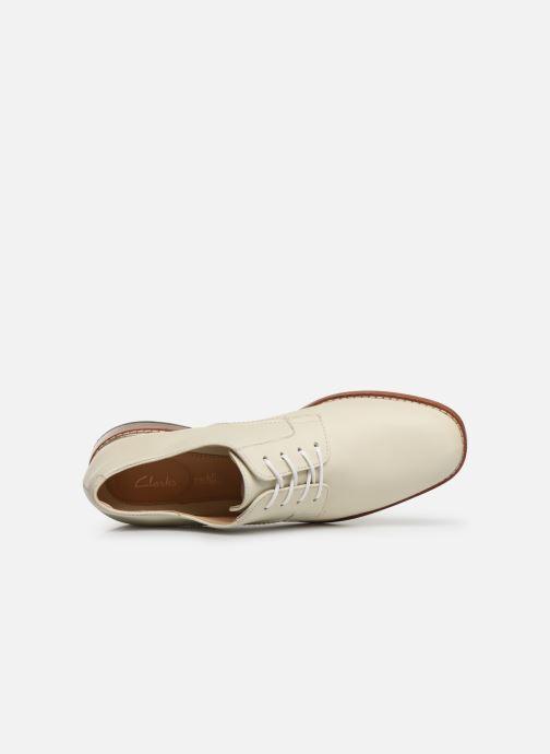 Chaussures à lacets Clarks Ellis Scarlett Blanc vue gauche