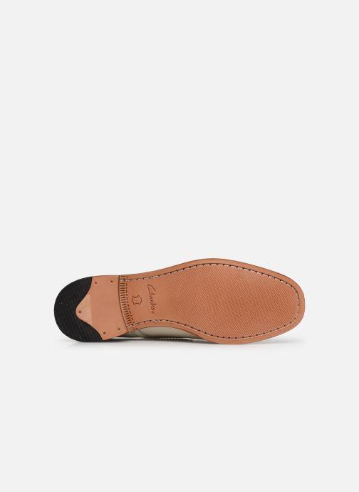Chaussures à lacets Clarks Ellis Scarlett Blanc vue haut