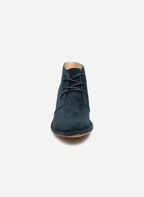 Bottines et boots Clarks Spiced Charm Bleu vue portées chaussures
