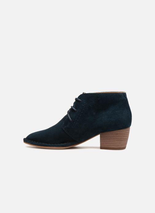 Bottines et boots Clarks Spiced Charm Bleu vue face