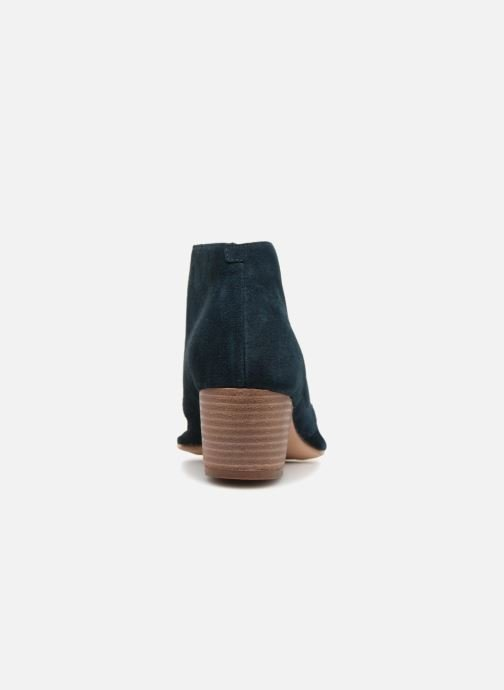 Ankle boots Clarks Spiced Charm Blue view from the right