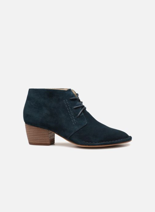 Ankle boots Clarks Spiced Charm Blue back view