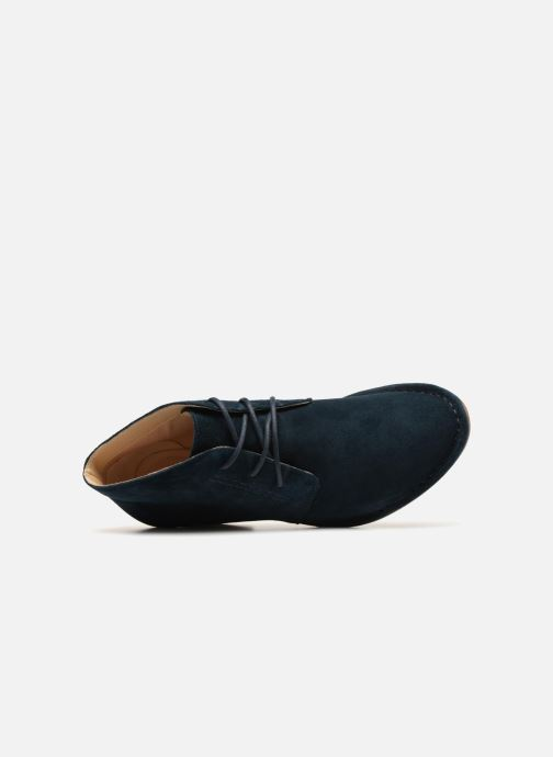 Ankle boots Clarks Spiced Charm Blue view from the left