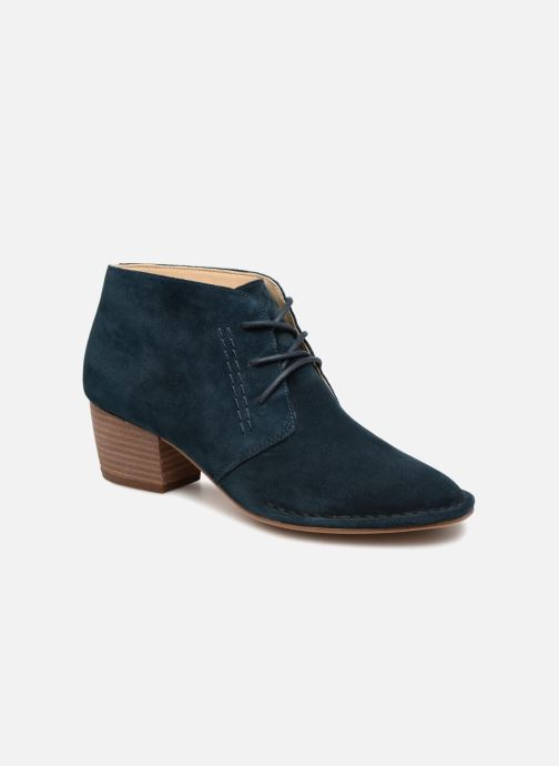 Ankle boots Clarks Spiced Charm Blue detailed view/ Pair view