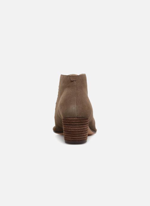 Bottines et boots Clarks Spiced Charm Vert vue droite