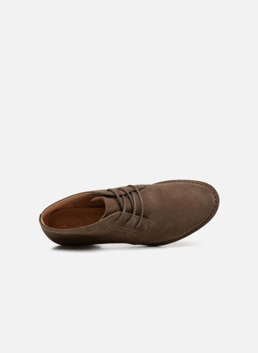 Bottines et boots Clarks Spiced Charm Vert vue gauche