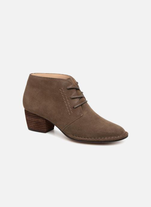 Bottines et boots Clarks Spiced Charm Vert vue détail/paire