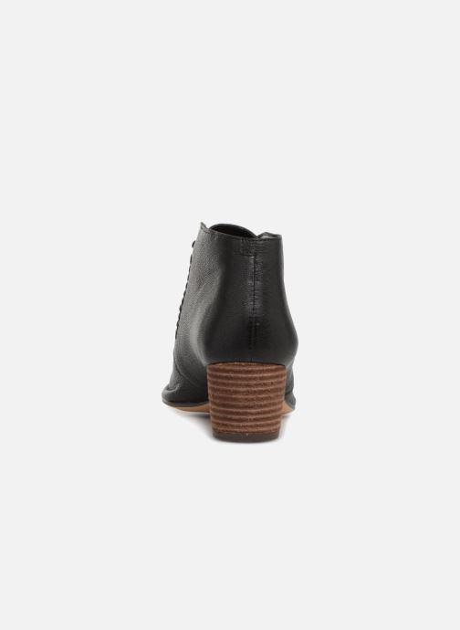 Bottines et boots Clarks Spiced Charm Noir vue droite