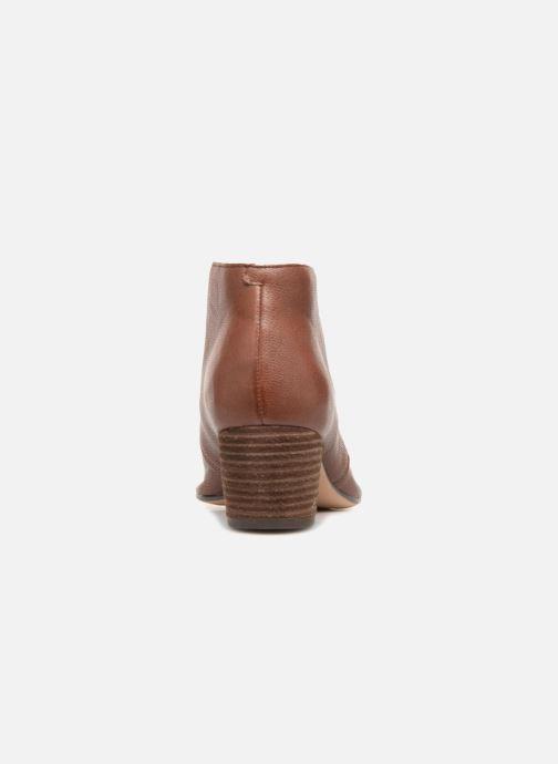 Bottines et boots Clarks Spiced Charm Marron vue droite