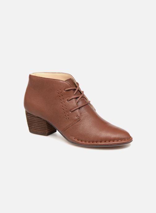 Bottines et boots Clarks Spiced Charm Marron vue détail/paire